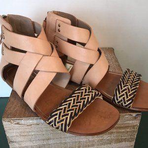 Dolce Vita Tan Leather Sandals
